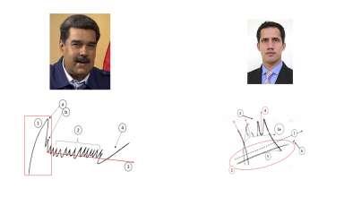 Nicolás Maduro Juan Guaidó