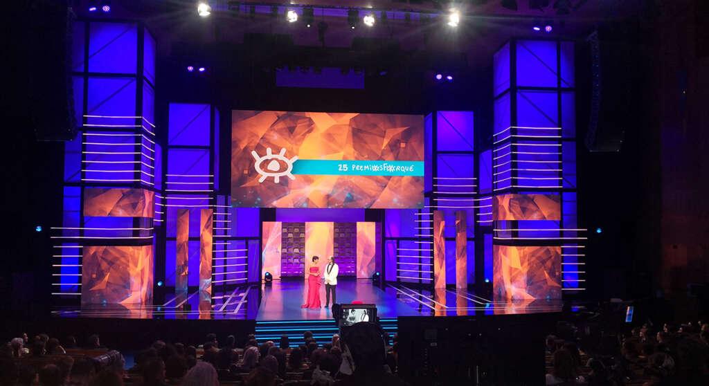Elena Sánchez y Santiago Segura presentaron los 25 Premios Forqué