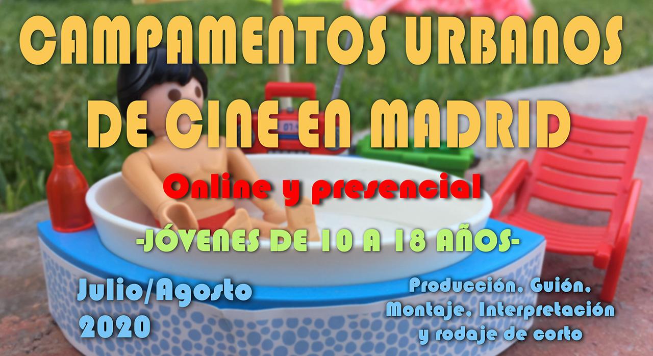 Campamentos Urbanos Cine Verano 2020