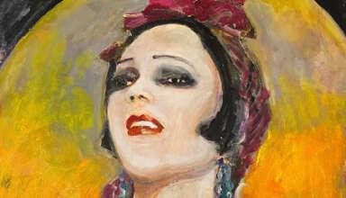 Cartel de 'Por los ojos de Raquel Meller'