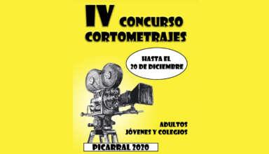 Cartel IV Concurso Cortos Picarral