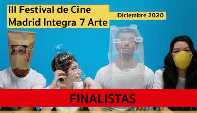 Cartel Festival Cine Madrid Integra 7 Arte