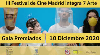 Gala Premiados III Festival CIne Madrid Integra 7º Arte