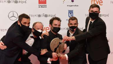 Ganadores Mejor Documental 'El año del descubrimiento' 26 Premios Forqué