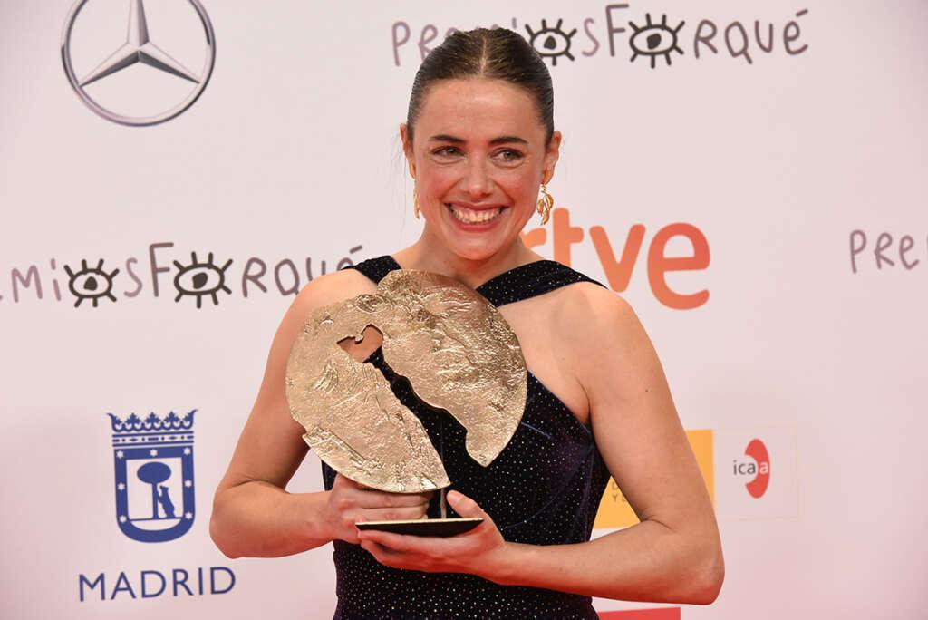 Premio mejor actriz Patricia Lopez Arnaiz por Ane