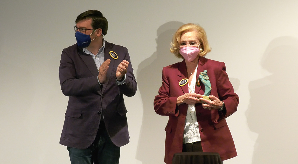 María josé Alnso recibe homenaje 39 Semana de Cine Español de Carabanchel