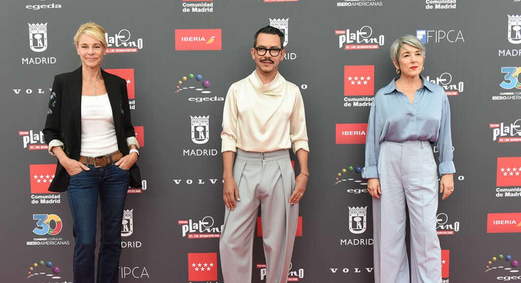 Belén Rueda, Manolo Caro y Paulina García