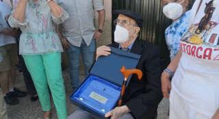 Jesús Guzman homenaje Santorcaz