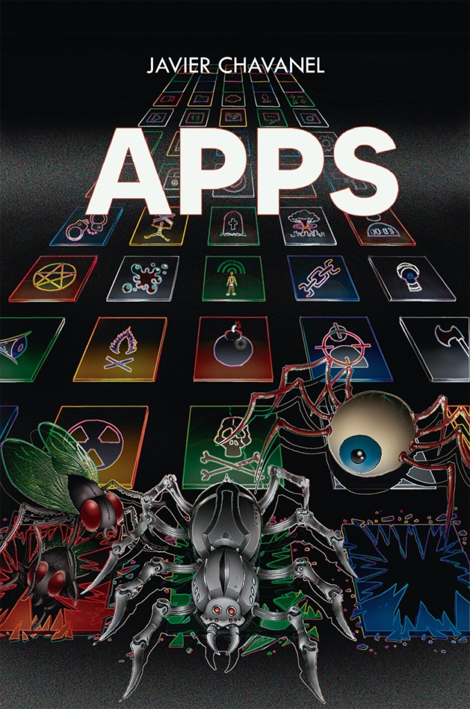 Portada novela 'Apps'