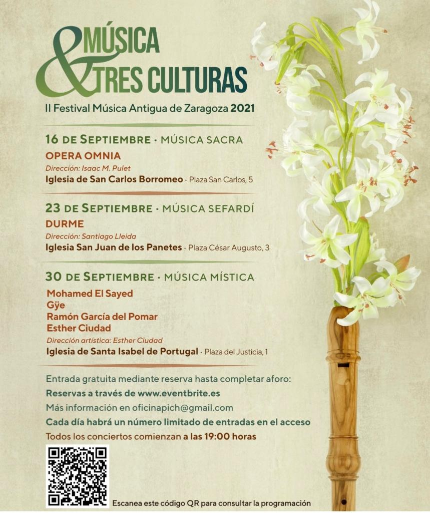 II Festival Música Antigua Tres Culturas