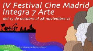cartel IV Festival Cine Madrid Integra 7 Arte