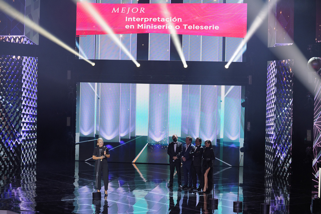 Elena Irureta - Premios Platino
